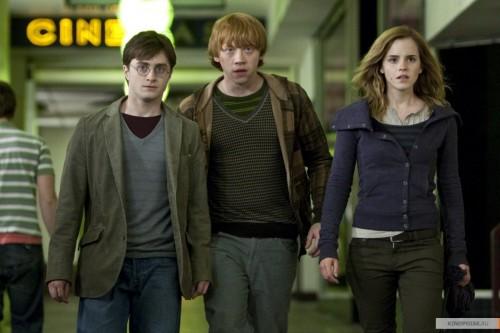Гарри Поттер и Дары смерти (кадр из фильма)