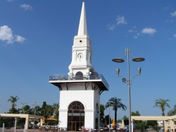 Башня с часами - символ Кемера