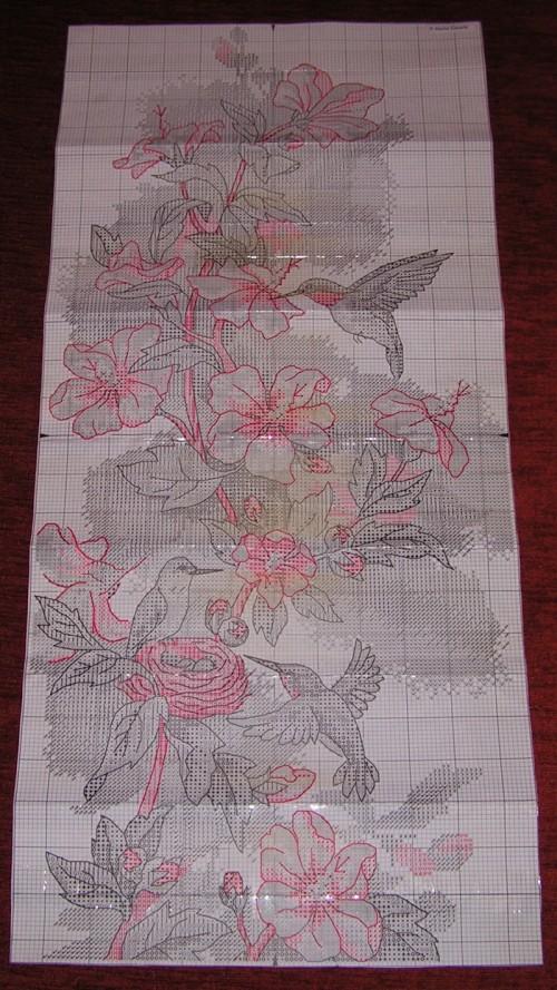 Схема для вышивки Колибри
