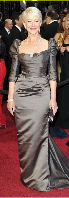 Хелен Миррен на церемонии Оскар 2011