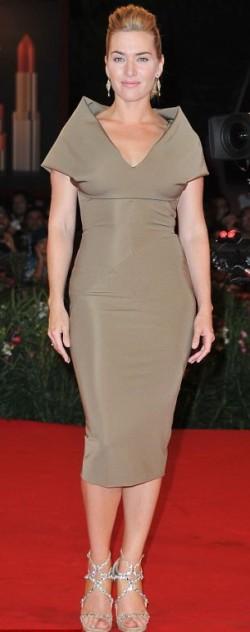 Кейт Уинслет на Венецианском кинофестивале