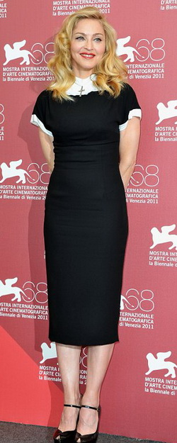Мадонна на открытии Венецианского кинофестиваля