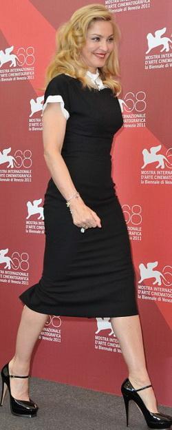 Мадонна на красной дорожке Венецианского кинофестиваля