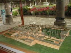 Макет дворца Топкапы, Стамбул