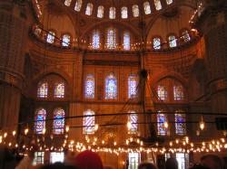 Люстра в Мечети Султан Ахмет, Стамбул