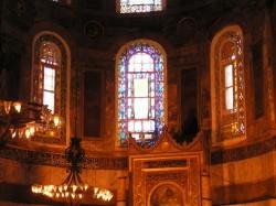 Ниша, указывающая на Мекку в Соборе Святой Софии, Стамбул