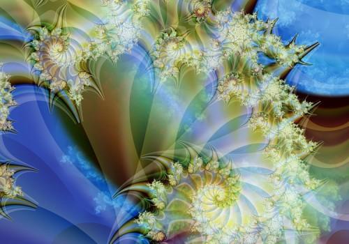 Фрактал - изображение, созданное с помощью компьютерной программы