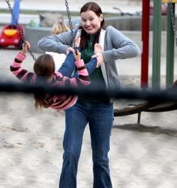 Джина Дэвис стала мамой в 48 лет