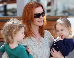 Марсия Кросс стала мамой в 45 лет