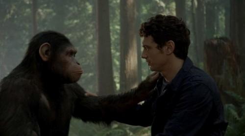 Восстание планеты Обезьян. Цезарь прощается с Уиллом.