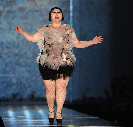 Бет Дитто - певица, модель и дизайнер одежды