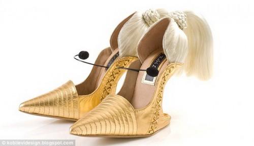 Туфли, воплощающие в себе образ поп-певицы Мадонны