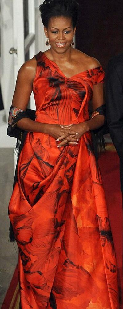 Мишель Обама - супруга американского президента.