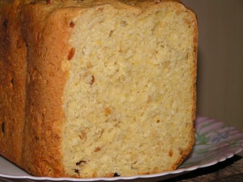 Хлеб с семенами пинии (кедровыми орехами)