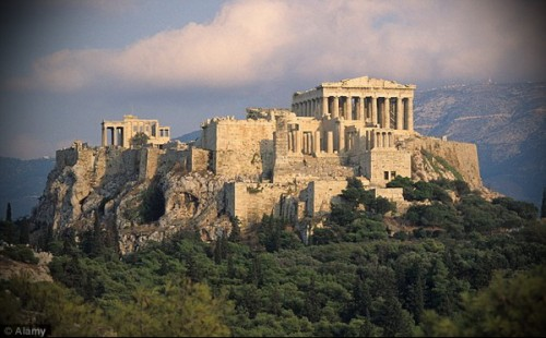 Афинский Акрополь - шедевр древней архитектуры