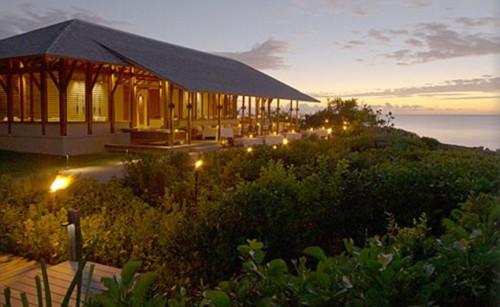 """Романтический курорт """"Amanyara luxury beach resort"""" : на одном из пляжей прошла церемония бракосочетания"""
