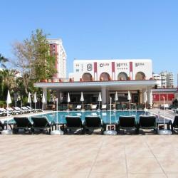 Club Hotel SERA - средний бассейн, рядом мелкий для малышей