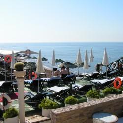 Club Hotel SERA - вид на пляж