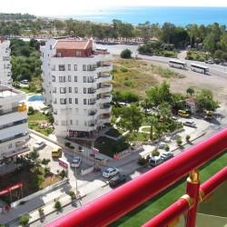Club Hotel SERA - вид с балкона