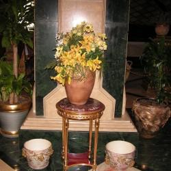 Club Hotel SERA - кругом живые и искусственные цветы