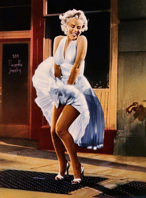Знаменитое платье Мэрилин Монро