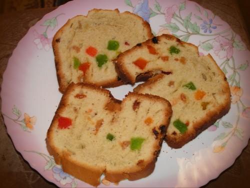 Кекс из хлебопечки. Вкусный и красивый десерт.