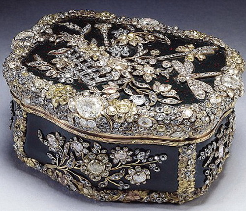 Табакерка короля Фридриха Великого Прусского, 1770-75 год