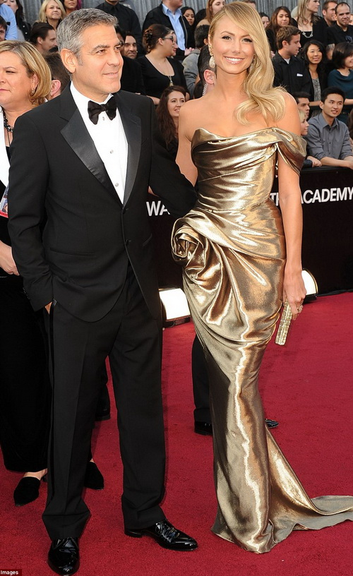 Джордж Клуни и Стейси Киблер (George Clooney & Stacy Keibler)