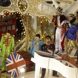 Карнавал в Рио (английские поп-звезды)