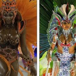 Карнавал в Рио (экзотические танцовщицы)