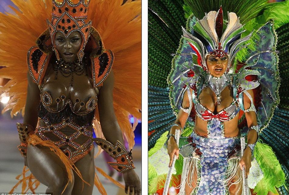 фото танцовщиц карнавал в рио