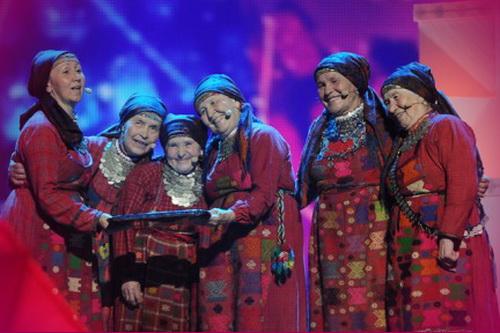 """""""Бурановские бабушки"""" стали вторыми на Евровидении 2012"""