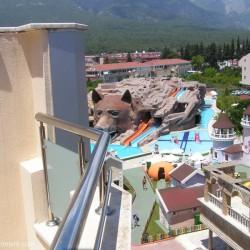 GRAND HABER HOTEL - вид на аквапарк