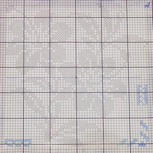 Схема чехла для подушки с