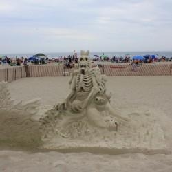 Фигуры из песка. Призер конкурса