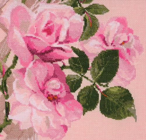 Розы вышивка крестиком