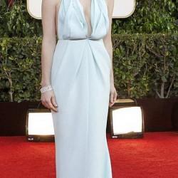 Джессика Честейн в платье Calvin Klein Collection