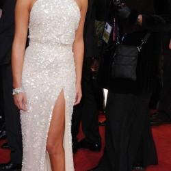 Лиа Мишель в платье Elie Saab