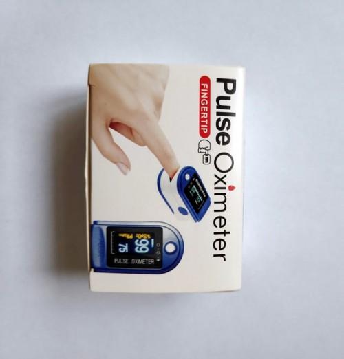 Упаковка пульсоксиметра LK88
